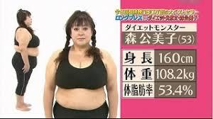 森公美子108キロ