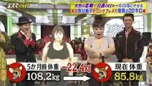 森公美子ダイエット22キロ